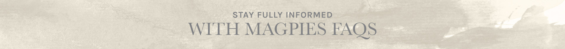 Magpies Gifts | FAQs