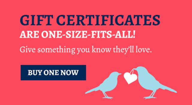 Magpies Gift Certificates