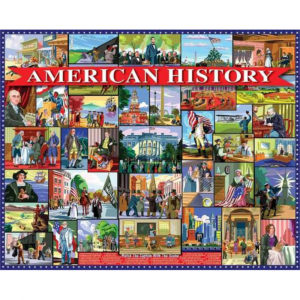 WHITE MOUNTAIN PUZZLES AMERICAN HISTORY PUZZLE