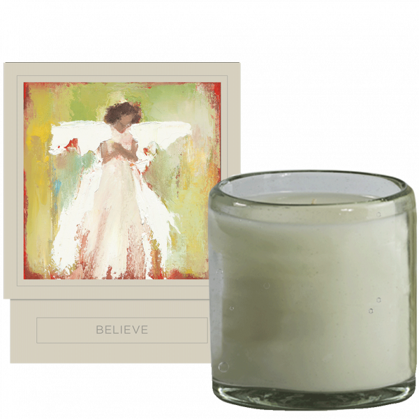 ANNE NEILSON HOME BELIEVE CANDLE