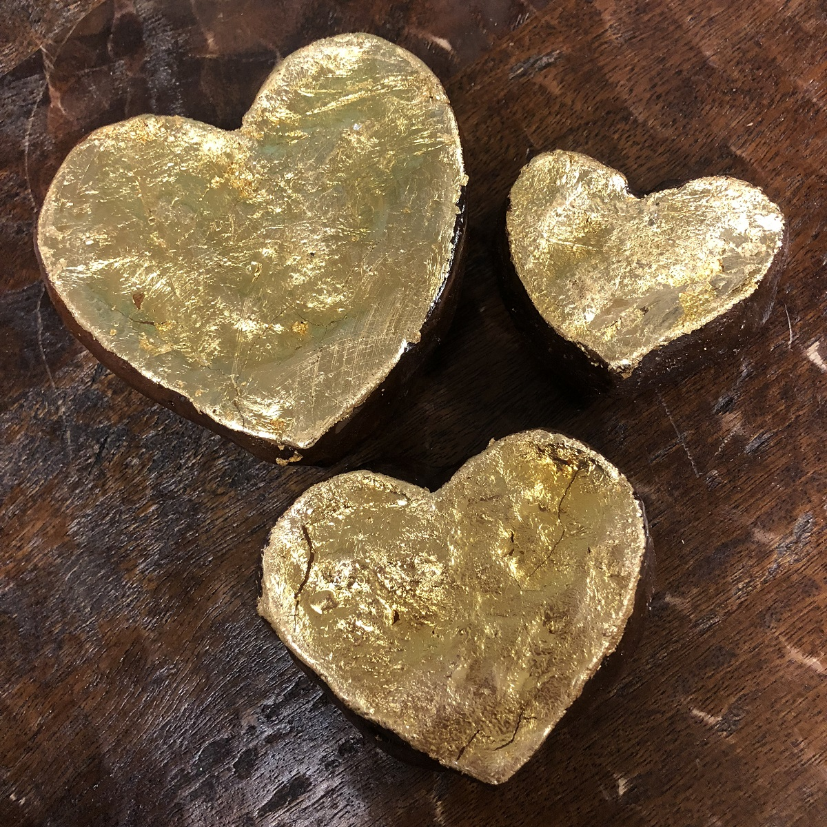 BARBARA BIEL DESIGNS GOLD HEART