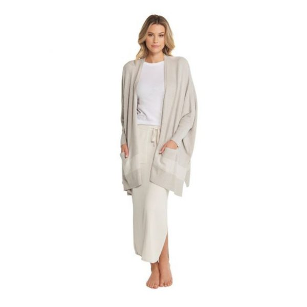 BAREFOOT DREAMS CLIFFSIDE WRAP - SILVER