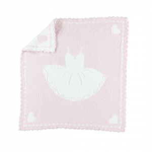 BAREFOOT DREAMS COZYCHIC SCALLOPED RECEIVING BLANKET
