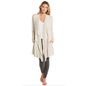 BAREFOOT DREAMS ISLAND WRAP - BISQUE