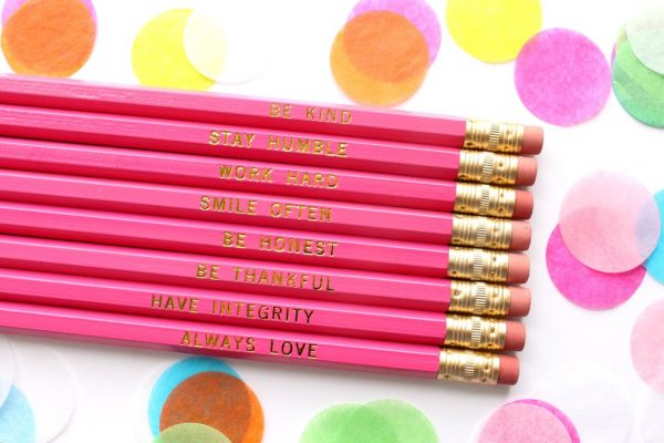 BE KIND, STAY HUMBLE PENCIL SET