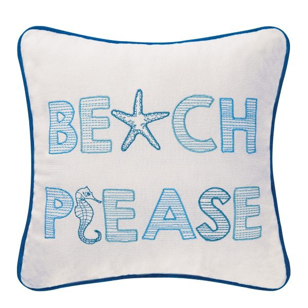 BEACH PLEASE PILLOW