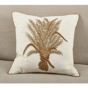 BEADED HARVEST PILLOW