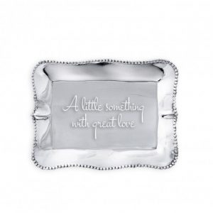 BEATRIZ BALL A LITTLE SOMETHING ENGRAVED TRAY