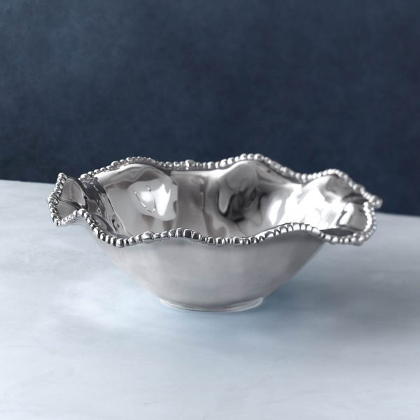 BEATRIZ BALL ORGANIC PEARL DIANA PUNCH BOWL