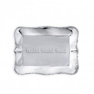 BEATRIZ BALL THANKFUL GRATEFUL BLESSED ENGRAVED TRAY