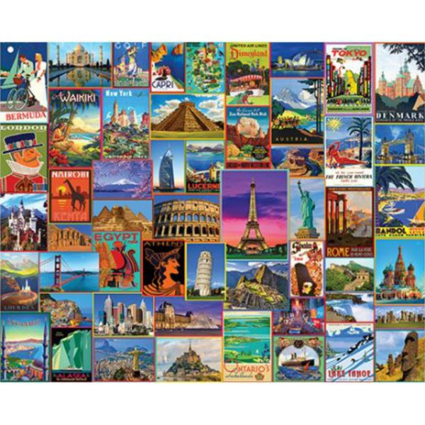 BEST PLACES IN THE WORLD PUZZLE