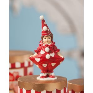 BETHANY LOWE DESIGNS VALENTINE CLOWN GIRL