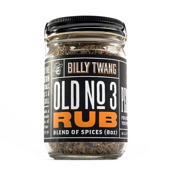 BILLY TWANG OLD NO.3 RUB