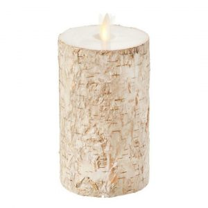 BIRCH PILLAR CANDLE - LARGE