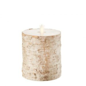 BIRCH PILLAR CANDLE - MEDIUM