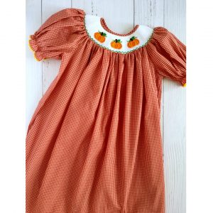 BISHOP PUMPKIN DRESS