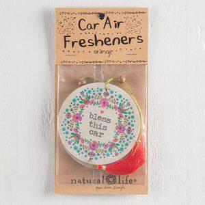 BLESS THIS CAR AIR FRESHENER