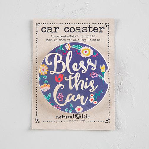 BLESS THIS CAR CAR COASTER
