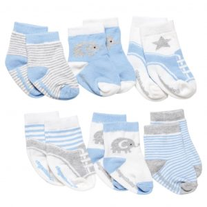 BLUE CUTIE COTTON BABY SOCKS