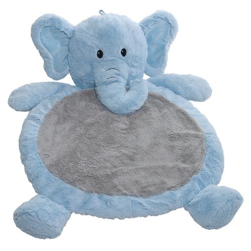 BLUE ELEPHANT BABY MAT