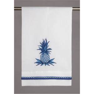 BLUE PINEAPPLE GUEST TOWEL