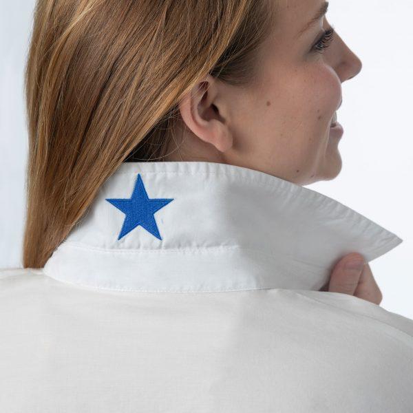 BLUE PREPPY STAR TOP