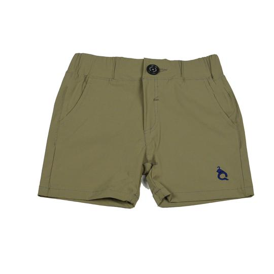 BLUE QUAIL EVERYDAY SHORTS IN KHAKI