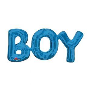 BOY BLUE BALLOON