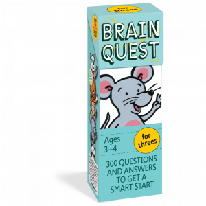 BRAIN QUEST - FOR THREES