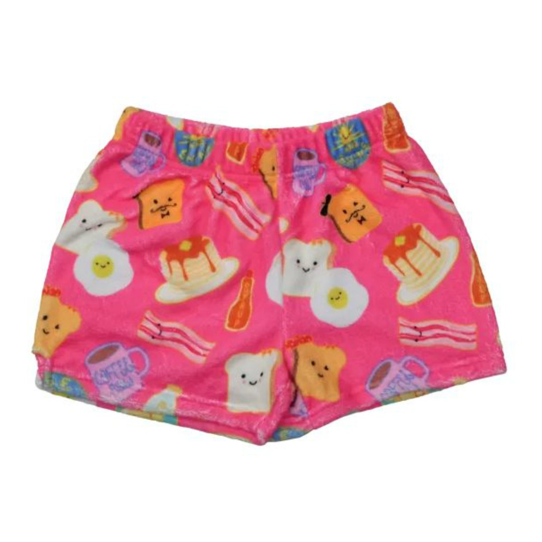 BREAKFAST CLUB PLUSH SHORTS