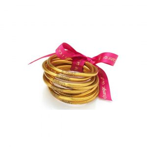 BUDHA GIRL GOLD BANGLES