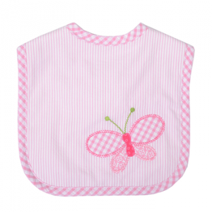 3 MARTHAS BUTTERFLY KISSES FEEDING BIB