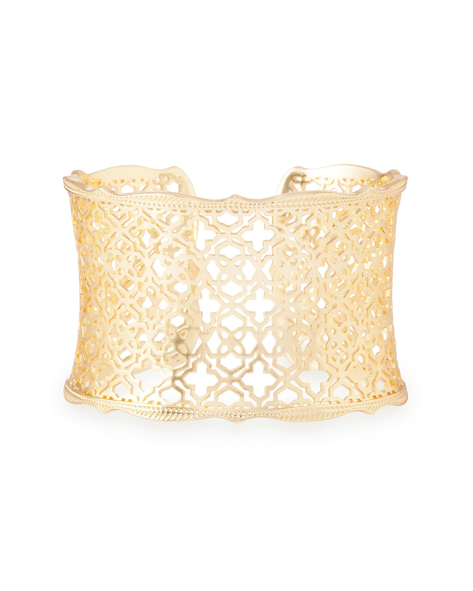 KENDRA SCOTT CANDICE CUFF IN GOLD