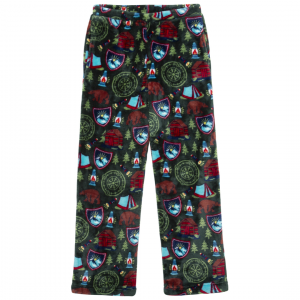CANDY PINK BOYS GREEN CAMPING PANTS