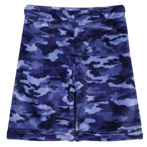 CANDY PINK BOYS NAVY CAMO SHORTS