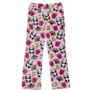 CANDY PINK GIRLS PINK PANDA PANTS