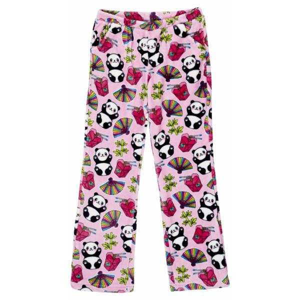 CANDY PINK GIRLS PINK PANDA PANTS