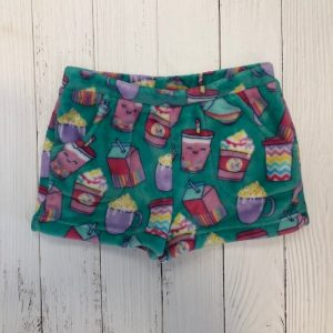 CANDY PINK SUMMER DRINKS SHORTS