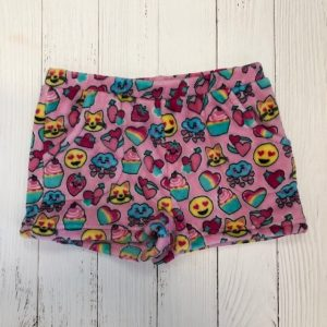 CANDY PINK VALENTINES SHORTS
