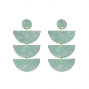 CARTER G DESINGS SCALLOP EARRINGS