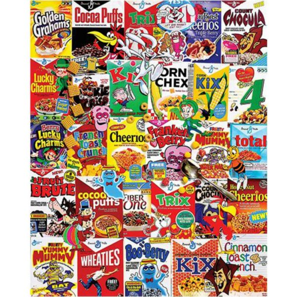 WHITE MOUNTAIN PUZZLES CEREAL BOXES PUZZLE
