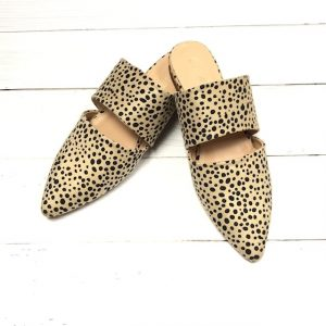 CHEETAH BELLA MULES