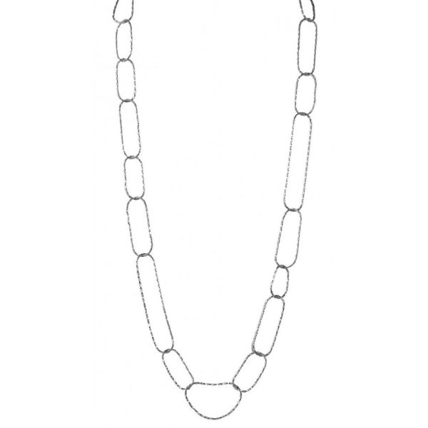 LISA FREEDE CHEVRON LINK NECKLACE