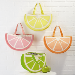 CITRUS LUNCH TOTE