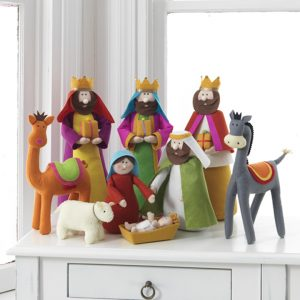 COLORFUL CHILDREN'S NATIVITY SET