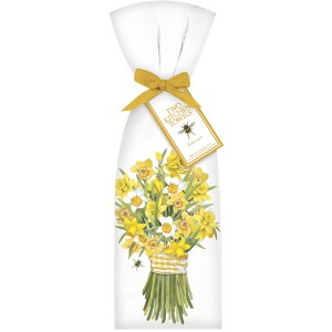 DAFFODIL BOUQUET TOWEL SET