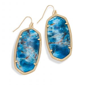 KENDRA SCOTT DANIELLE EARRING IN BRASS