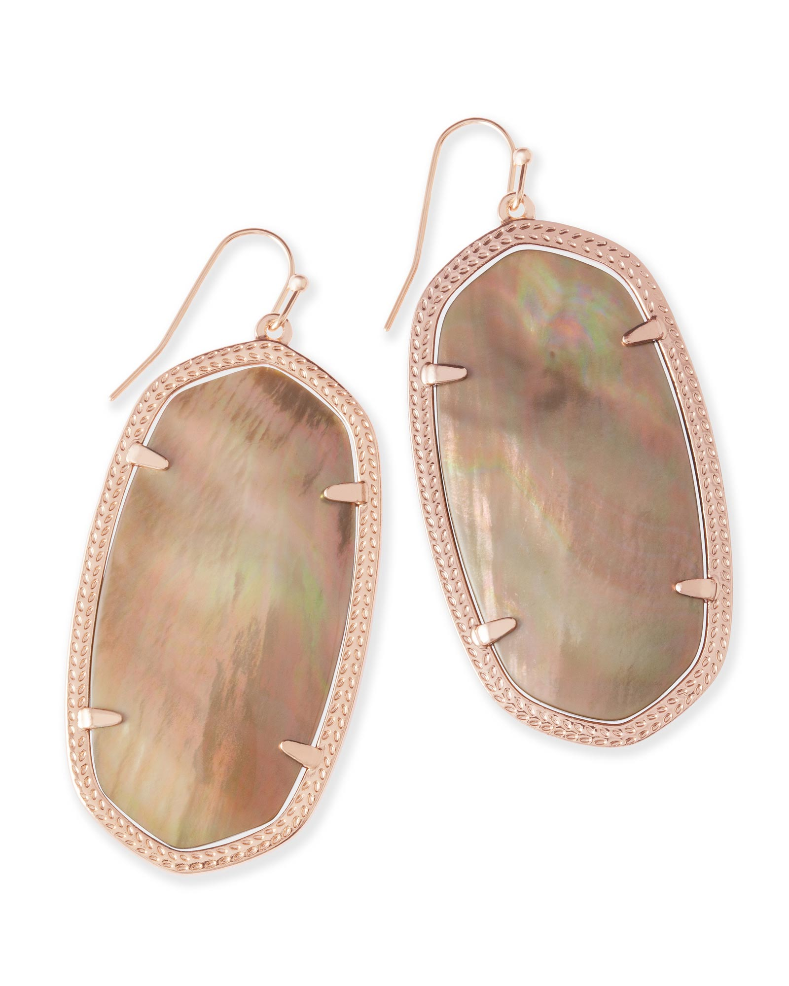 KENDRA SCOTT DANIELLE EARRINGS IN ROSE GOLD
