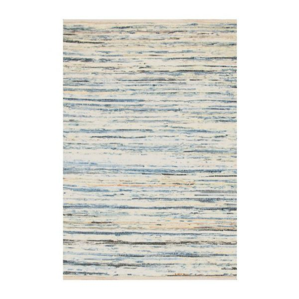 DASH & ALBERT DENIM RAG WOVEN RUG