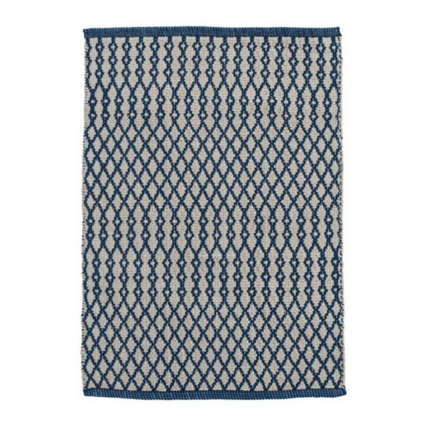 DASH & ALBERT HARVEY INDOOR/OUTDOOR RUG - NAVY